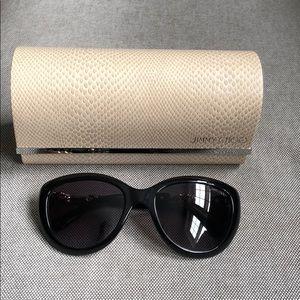Jimmy Choo wigmore sunglasses Black/silver